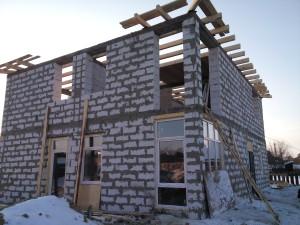 Строительство домов из газобетона фундамент