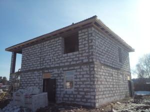 Строительство из газобетона под ключ