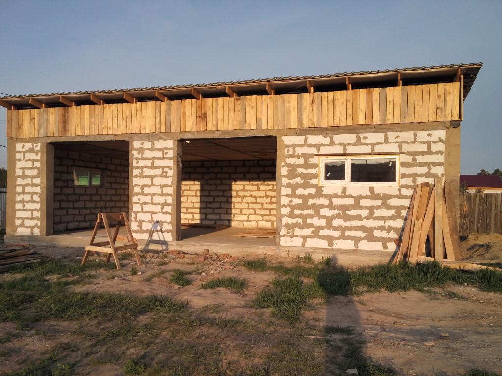 Строительство гаражей под цена