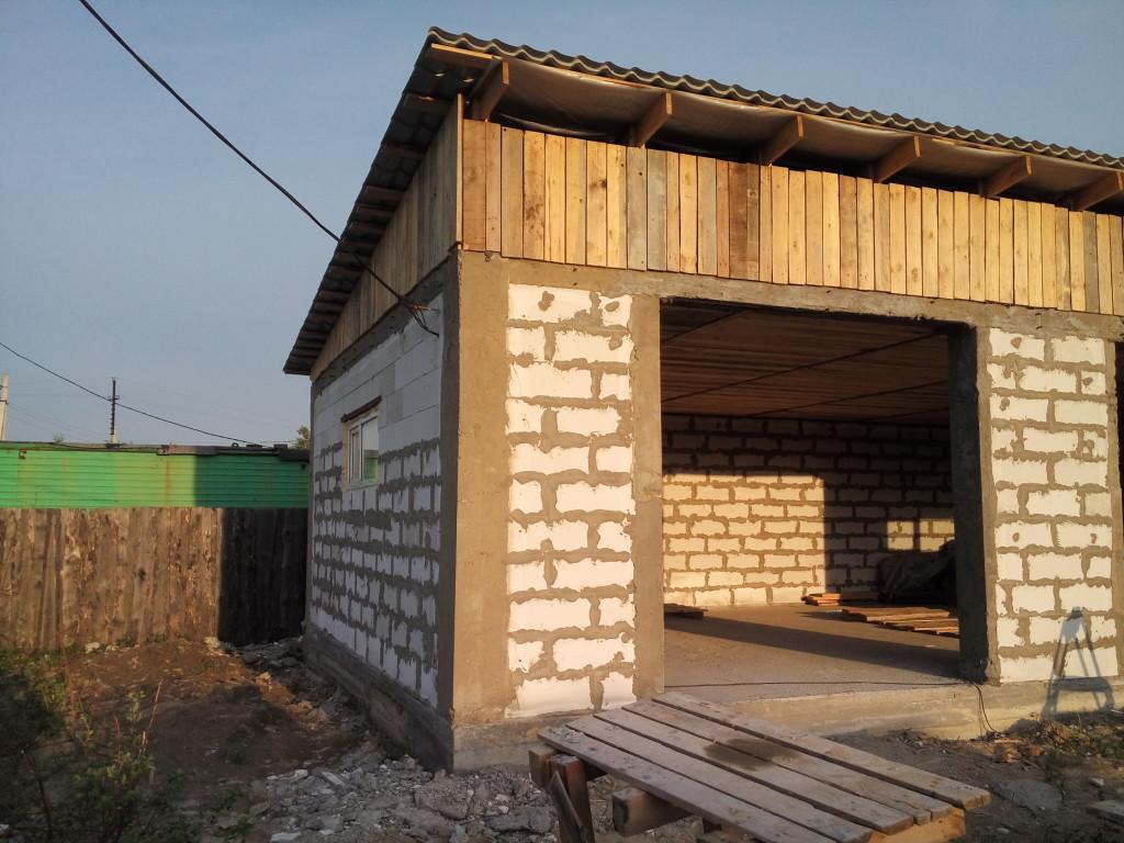 Частные гаражи строительство