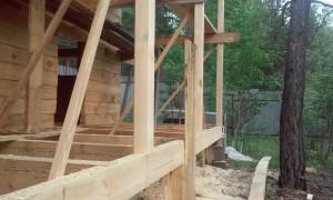 Строительство русских бань из бревна и бруса