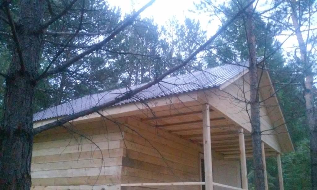 Крыша профнастил