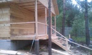 Строительство бань из бруса