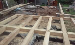 Строительство бани из бруса недорого