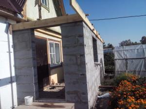 Строительство дачного дома из газобетона