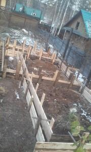 Ленточный фундамент,ленточный фундамент под дом