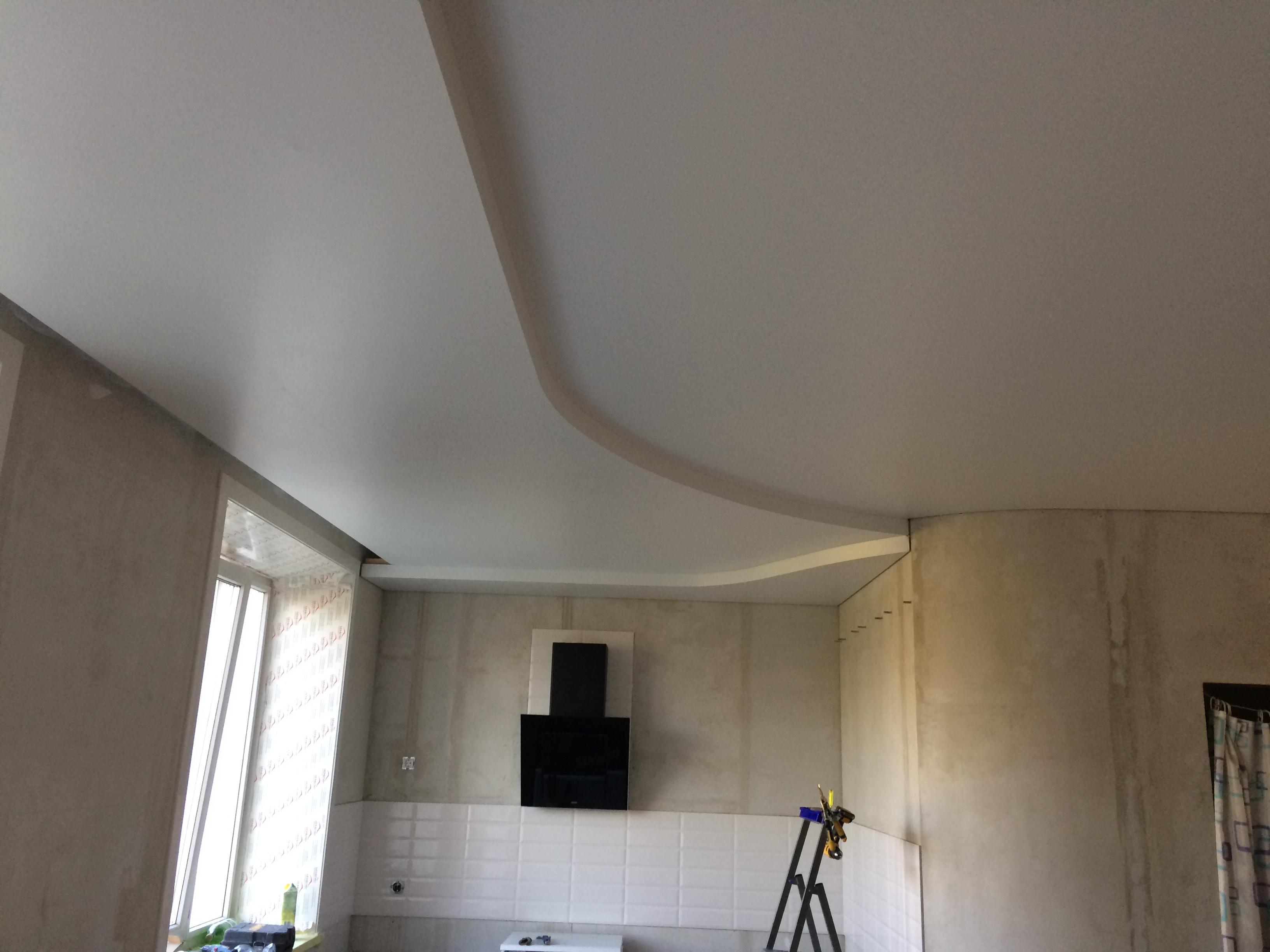 монтаж потолков двухуровневые потолка установка потолка