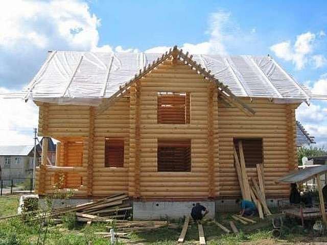 строительство из бревна Иркутск