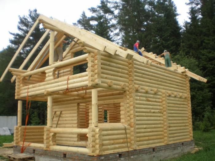 строительство из бревна Ангарск