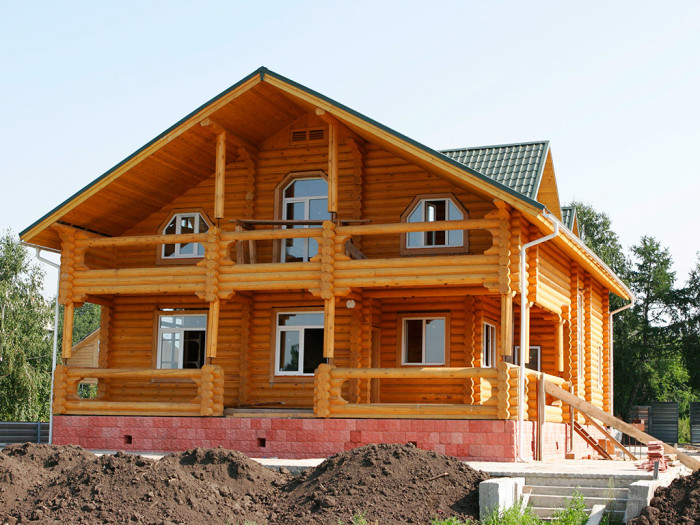 дом бревно под ключ Иркутск