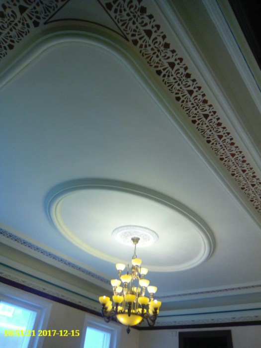 Реставрация потолка