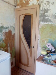 Сборка и установка дверей