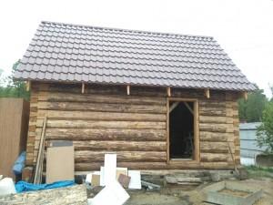 Строительство бань из бревна