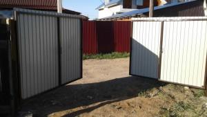 Ворота дачные распашные