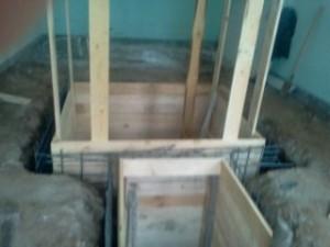 Строительство подвала под гаражом