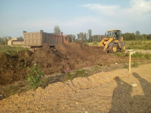 Проведение земельных работ