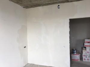 После шпаклевки стен