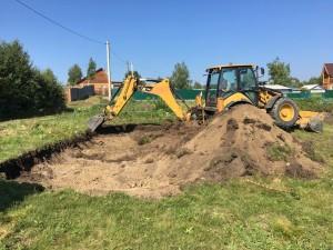 Подготовка участка под строительство дома