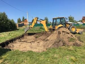 Подготовка участка под строительство дома из бруса