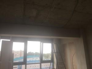 Работа с гибсокартоном потолок