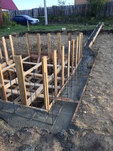 Строительство бетонных работ