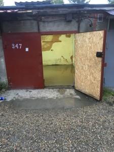 Заливка пола в гараже