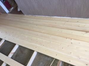 Замена деревянных полов в квартире