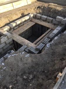 Строительство подвала гаража