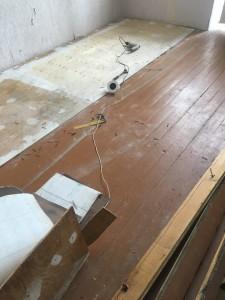 Ремонт полов. Начало ремонта квартиры.