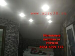 Натяжной потолок в частном доме