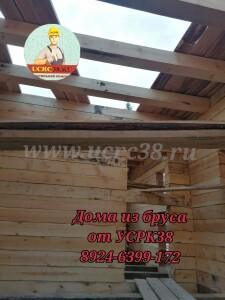 Брусовые дома на сваях от УСРК38